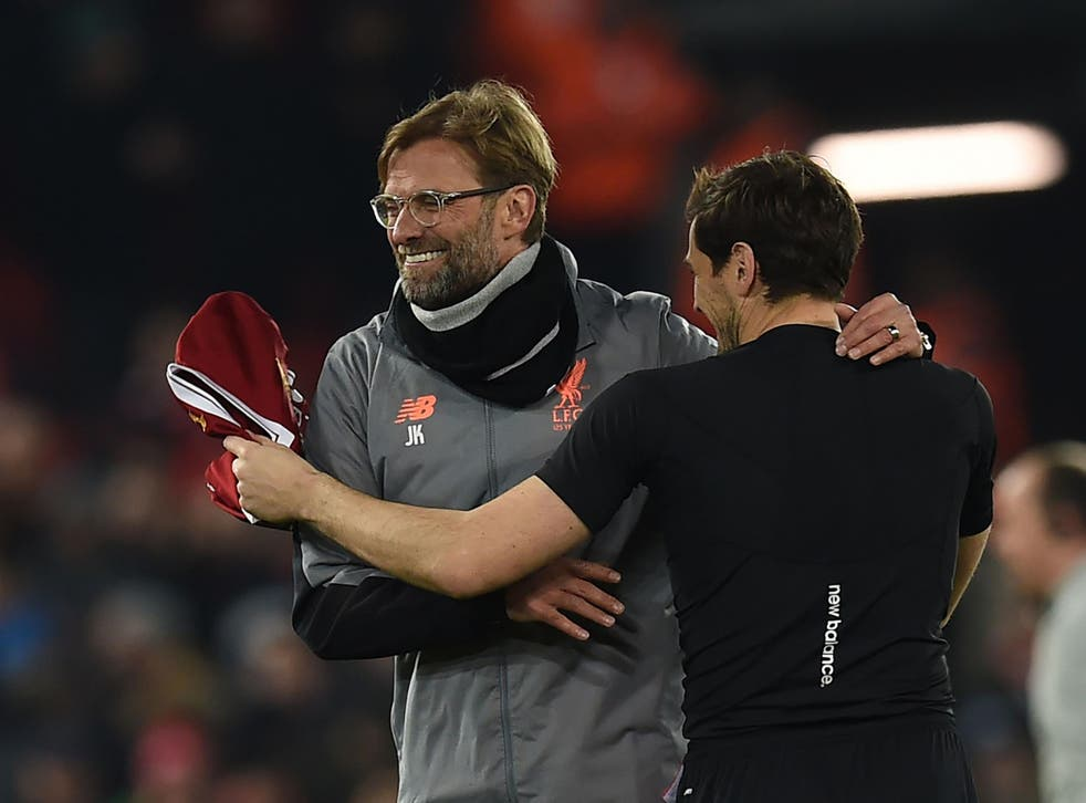 Jurgen Klopp believes Liverpool should be regularly competing at this level