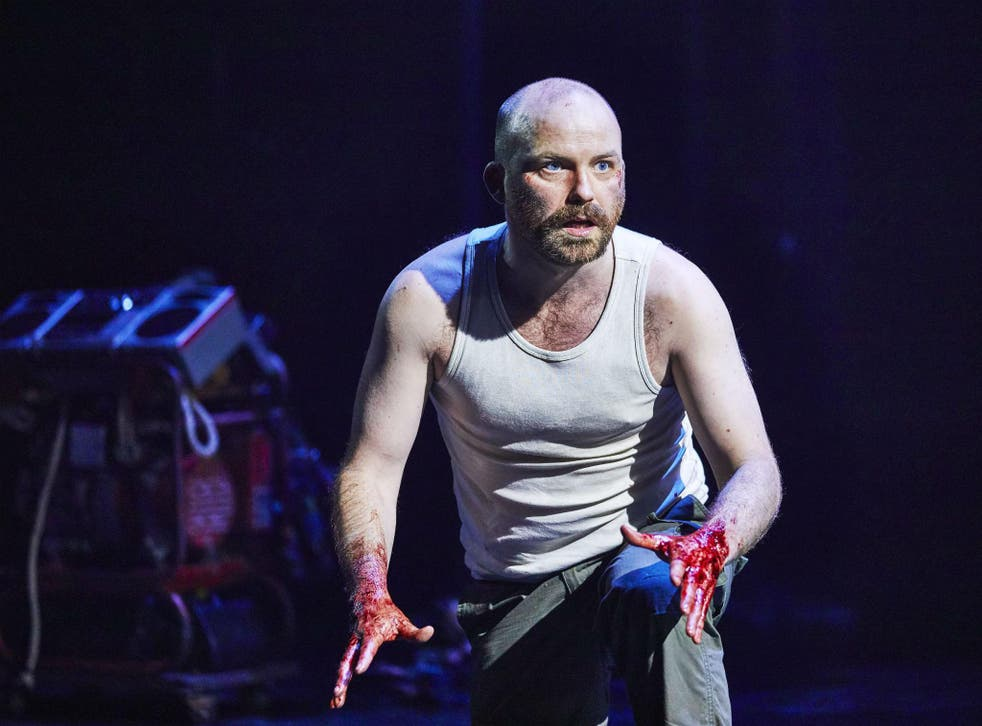 Rory Kinnear as Macbeth at the National Theatre