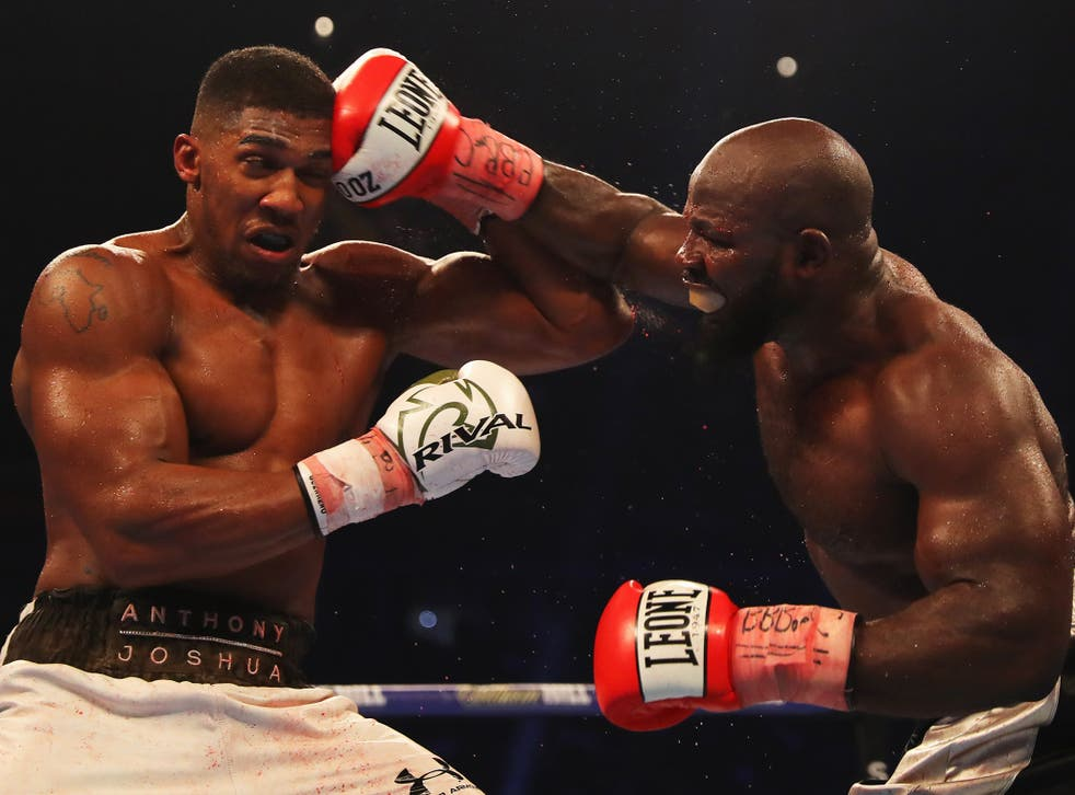 Anthony Joshua will spar with Carlos Takam