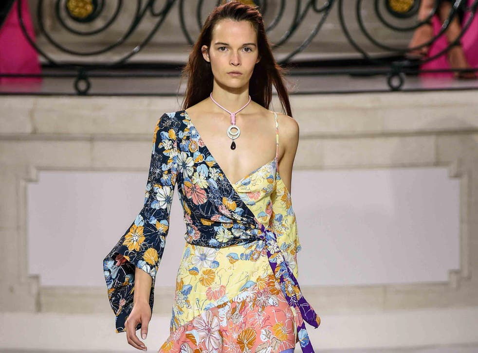 Peter Pilotto's spring/summer 2018 catwalks gave off some serious bohemian vibes