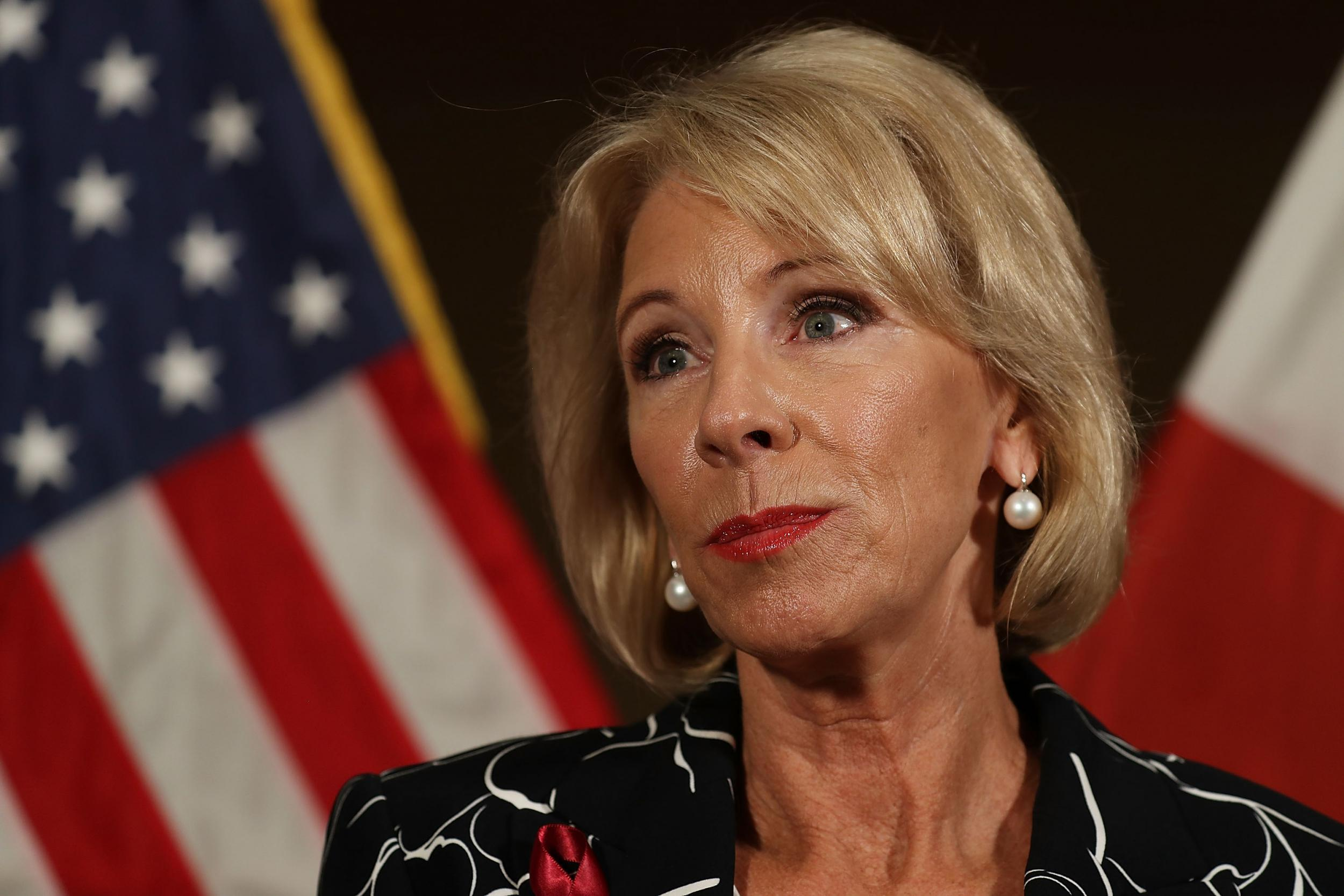 'That was very frustrating': Parkland high school students not impressed by Betsy DeVos's visit after shooting