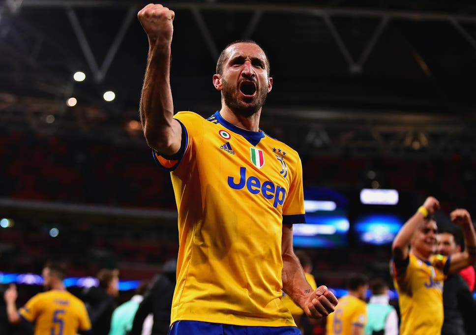 803bb64a4 Juventus defender Giorgio Chiellini claims Tottenham remain  a ...