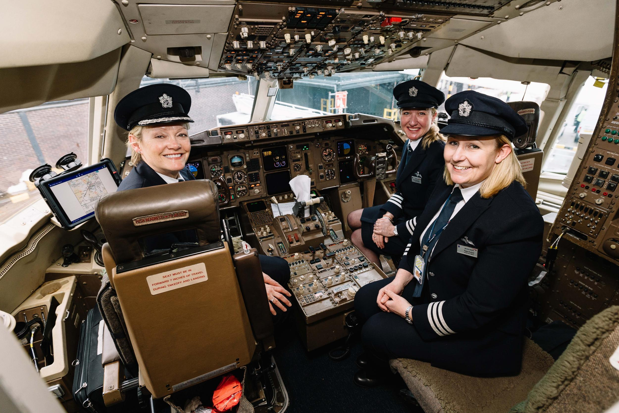 International Women's Day: Four female pilots discuss life in the flightdeck