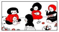 Google Doodle celebrates female artists on International Women's Day