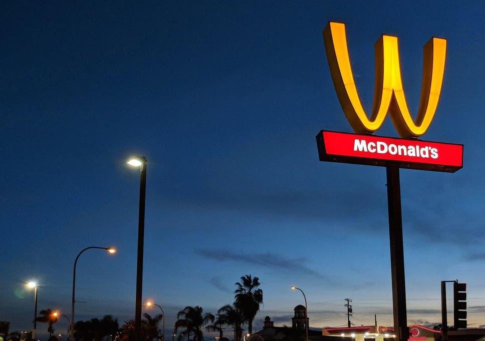 ec135498d International Women's Day: McDonald's flips its golden arches upside down  'in celebration of women everywhere'