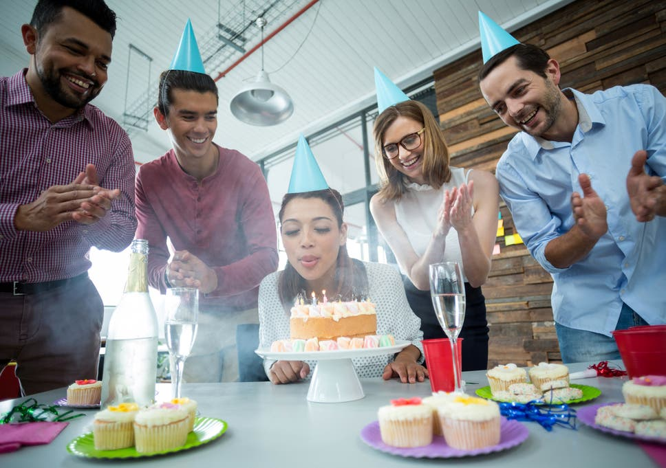Employers Told To Swap Birthday Cake For Healthier Alternatives In