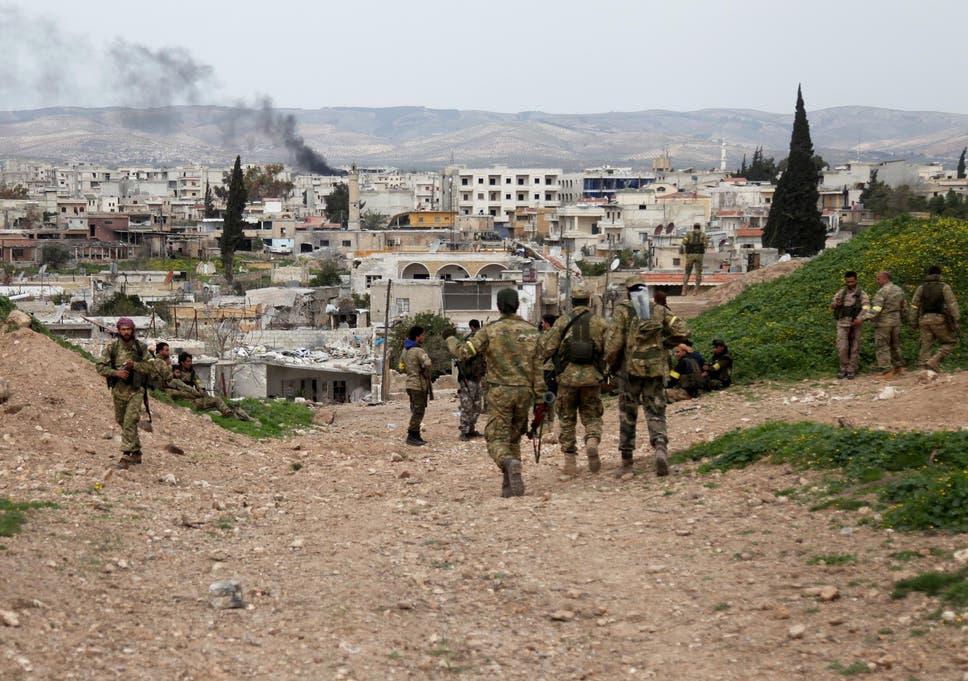essay on syrian war