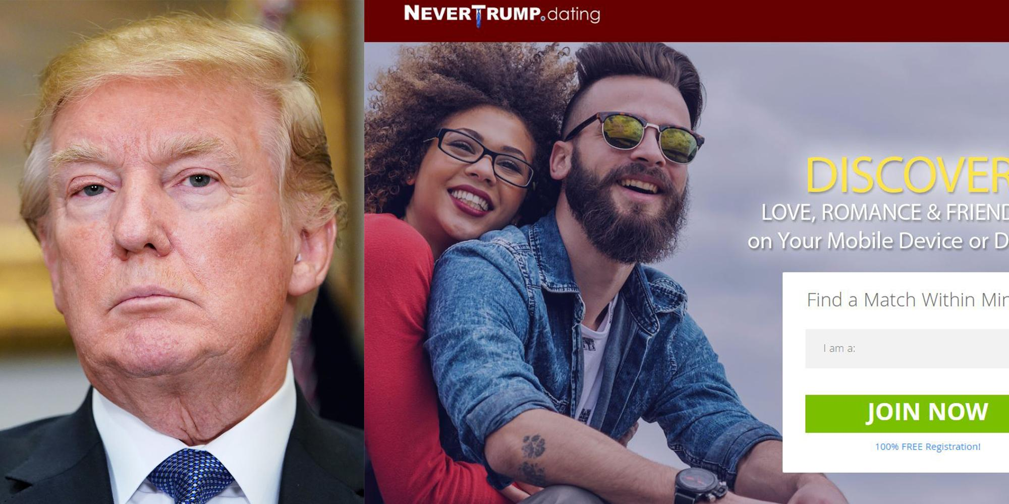 Never trump dating site