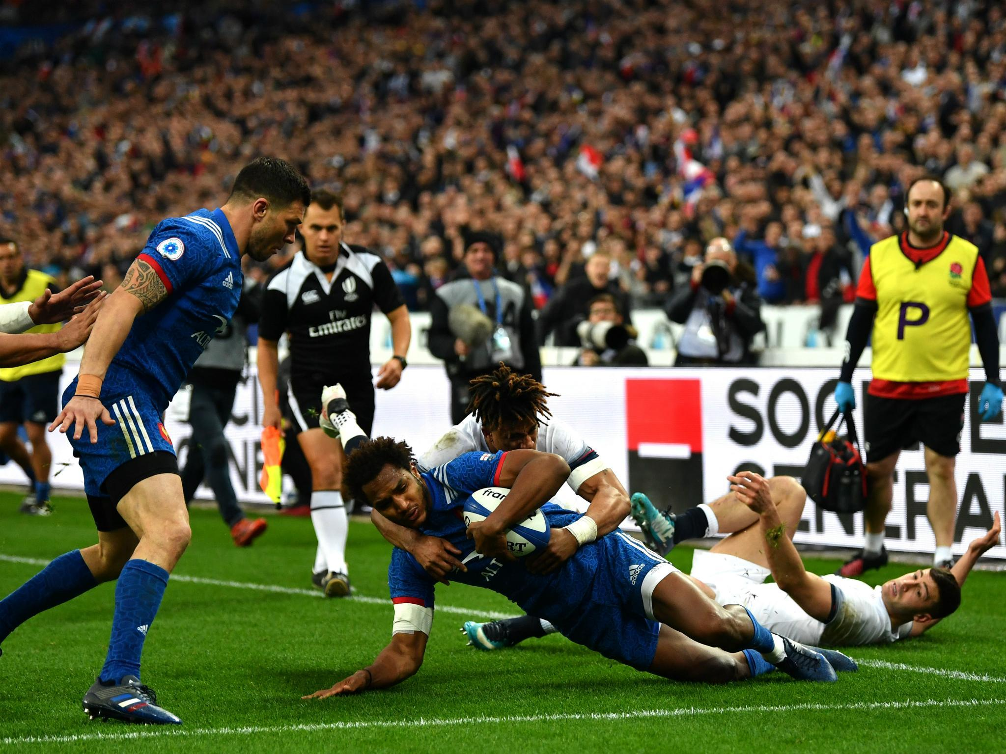 France vs England player ratings: Mathieu Bastareaud and Guilhem Guirado  star as Ireland claim Six Nations | The Independent