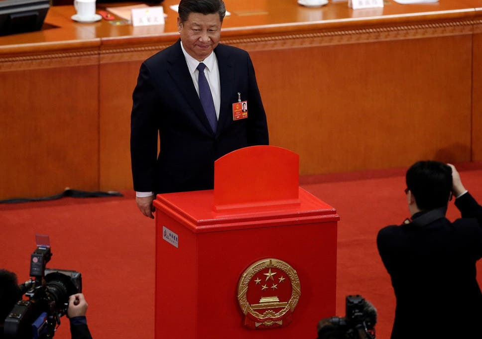Array chinese parliament passes constitutional