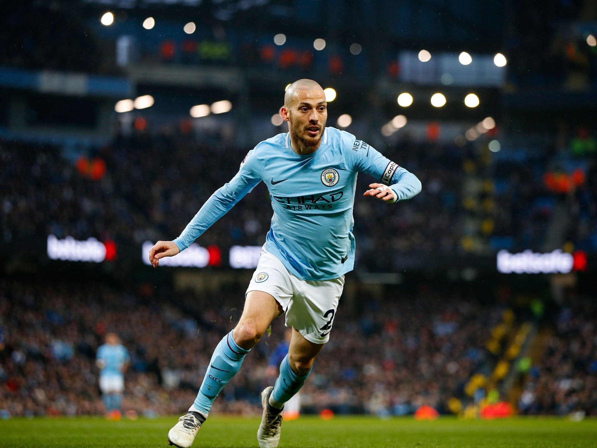 Manchester City's David Silva To Be Handed More Time Off