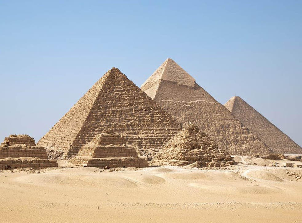 Early surveys of Giza's pyramids found each of the four edges of the bases point towards a cardinal direction to within a quarter of a degree