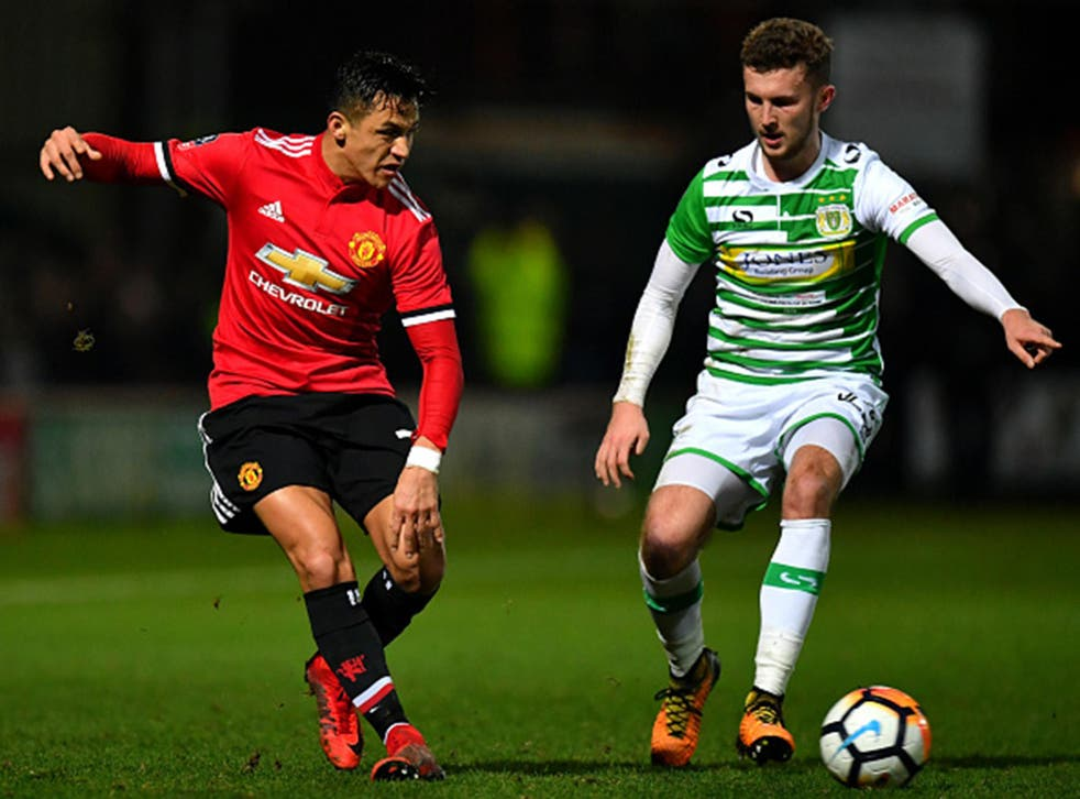 Yeovil''s Tom James played against Manchester United in the FA Cup