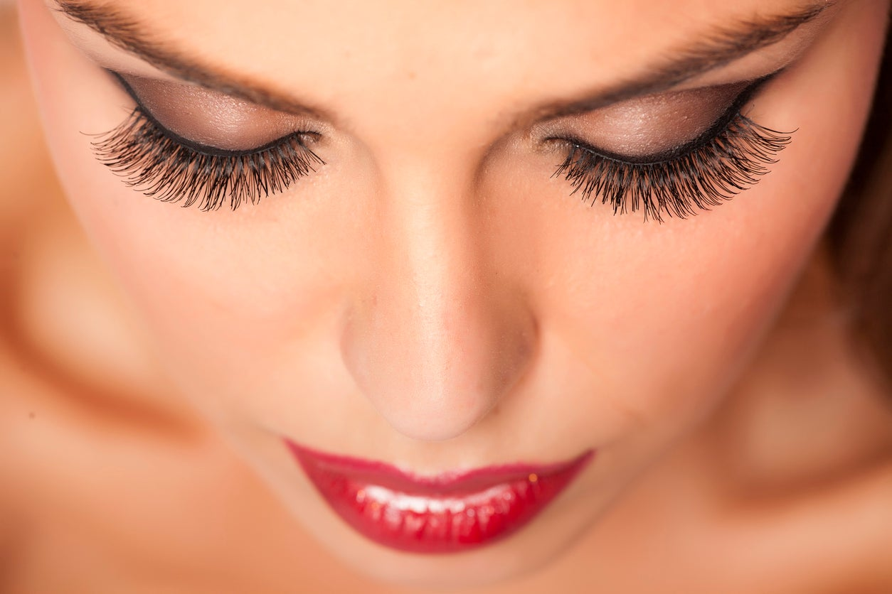 Image result for place fake eyelashes