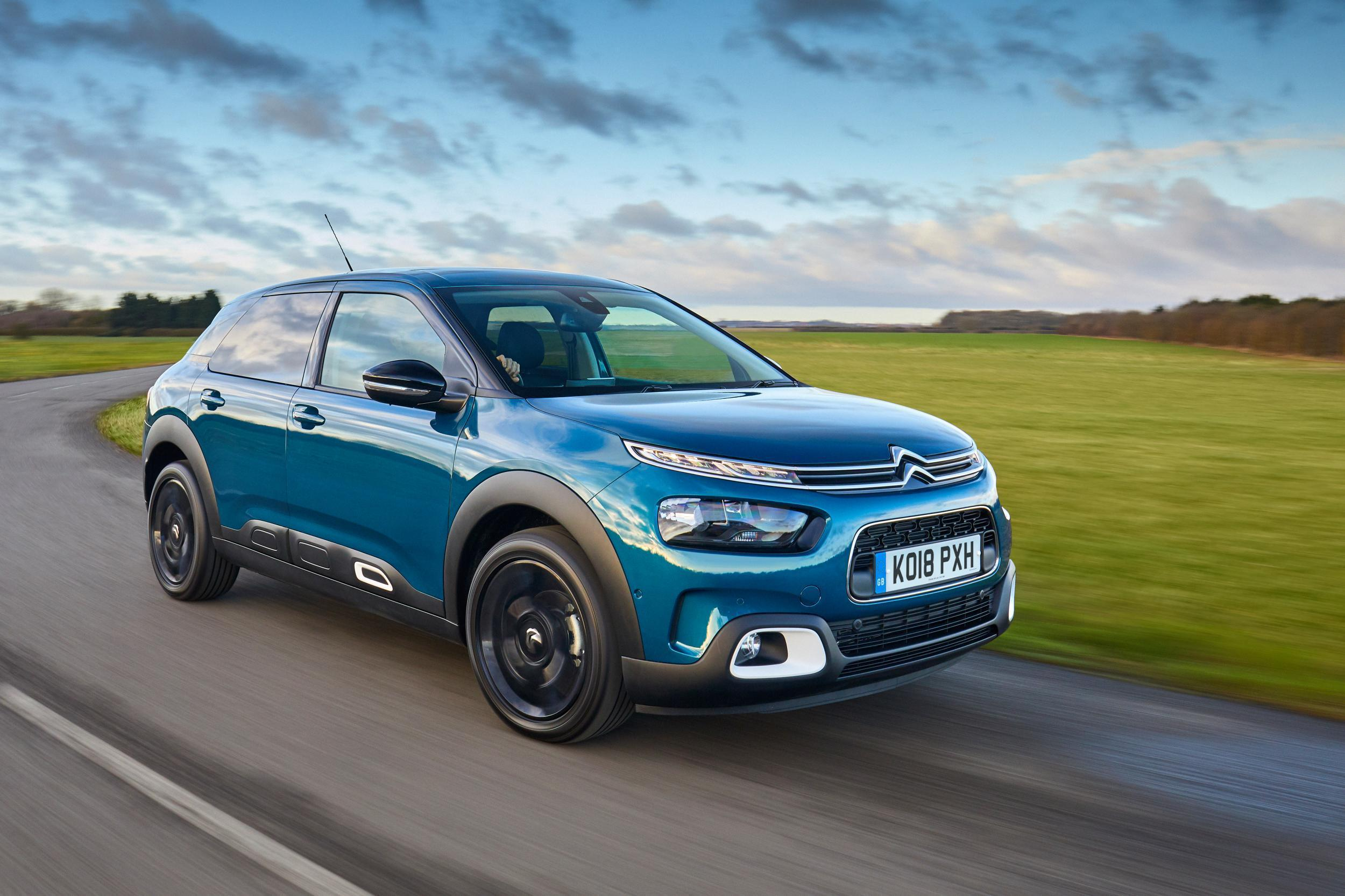 car review citroen c4 cactus 2018 the independent. Black Bedroom Furniture Sets. Home Design Ideas