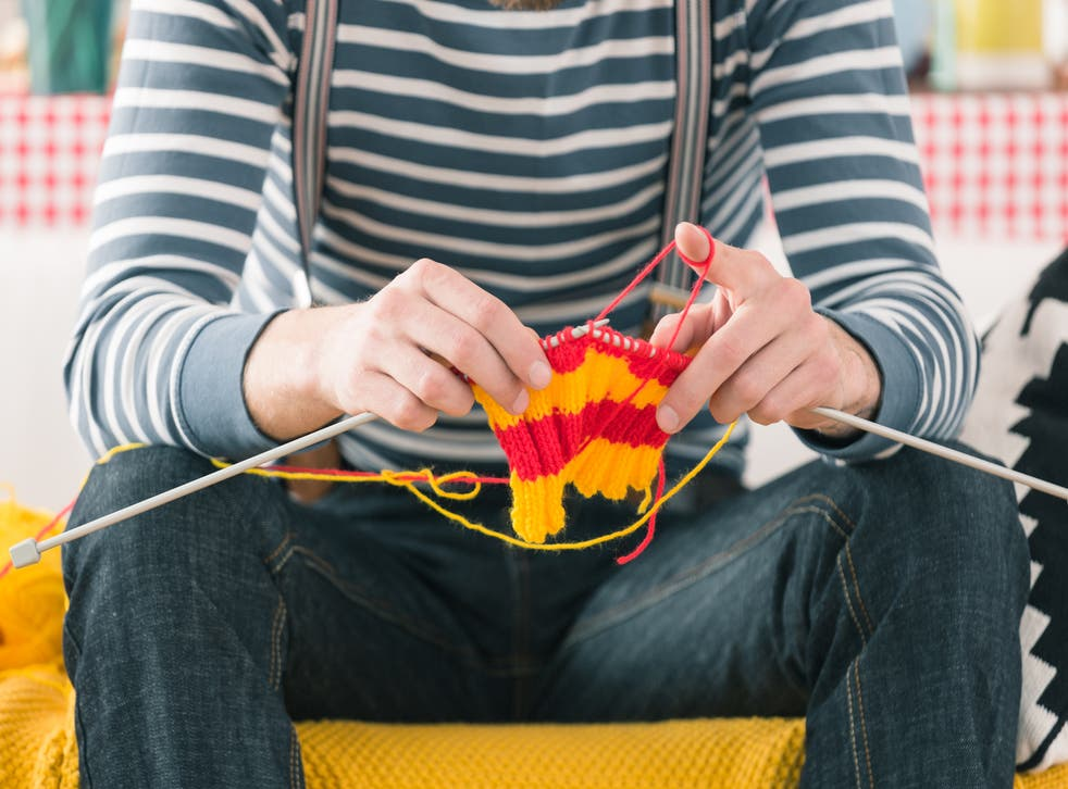 Knitting can help treat depression and anxiety