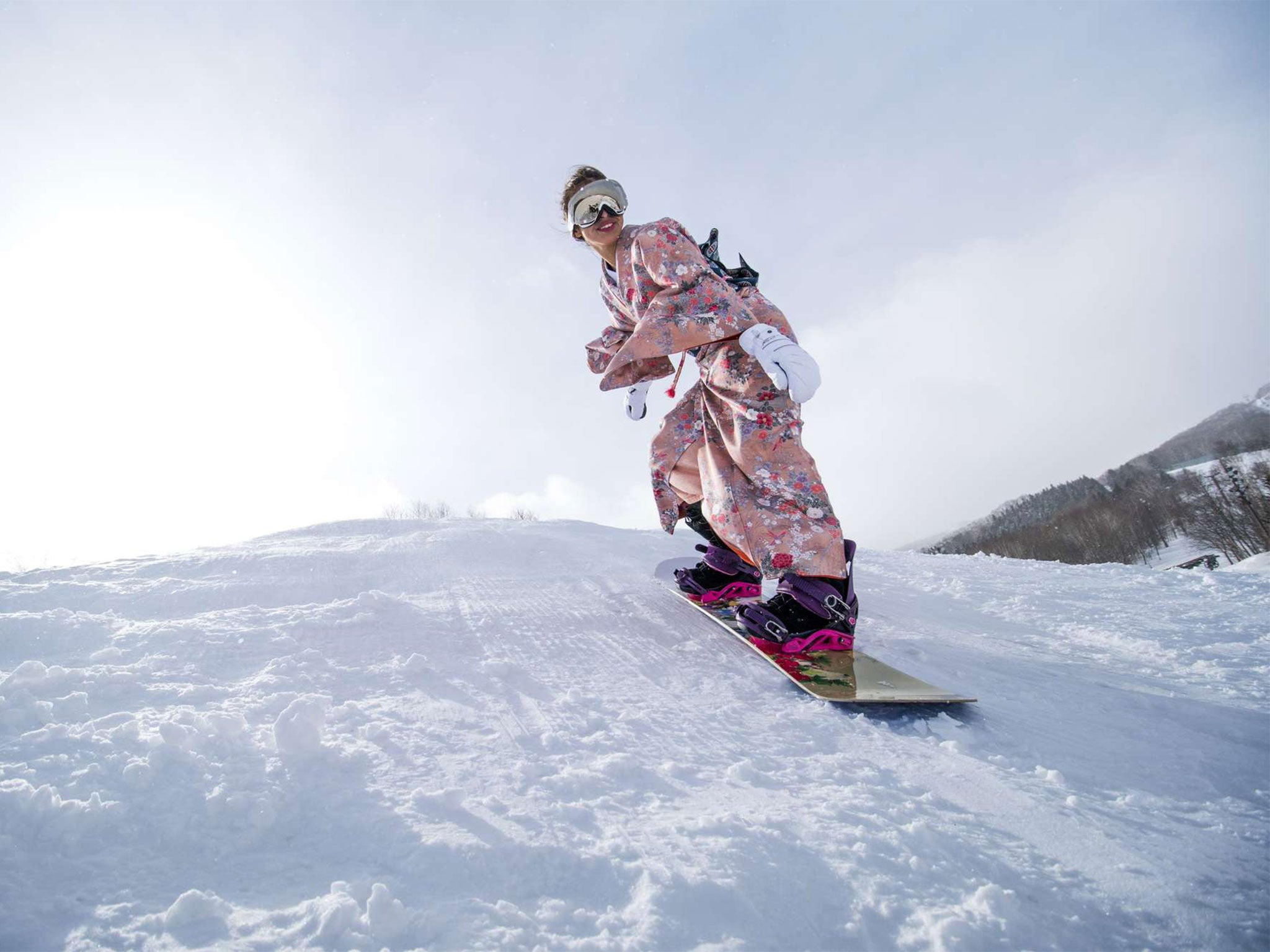 Japan's 'champagne powder' snow is taking the skiing world by storm