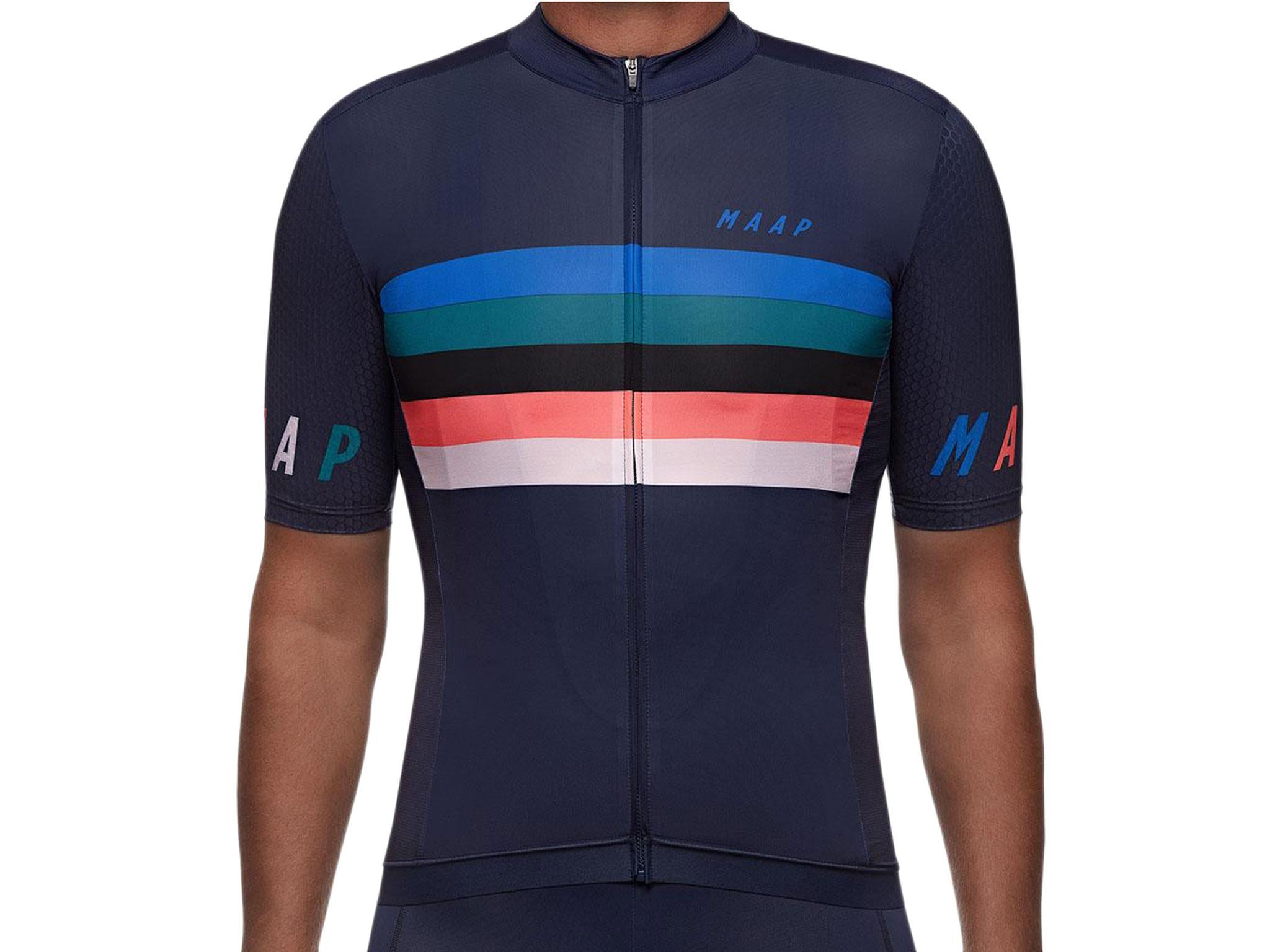 f8f3c5770 Maap Worlds Pro Hex Short Sleeve Jersey  £132