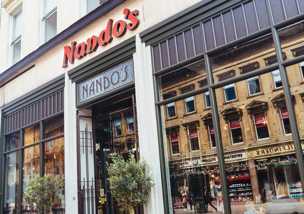 nandos commercial online dating