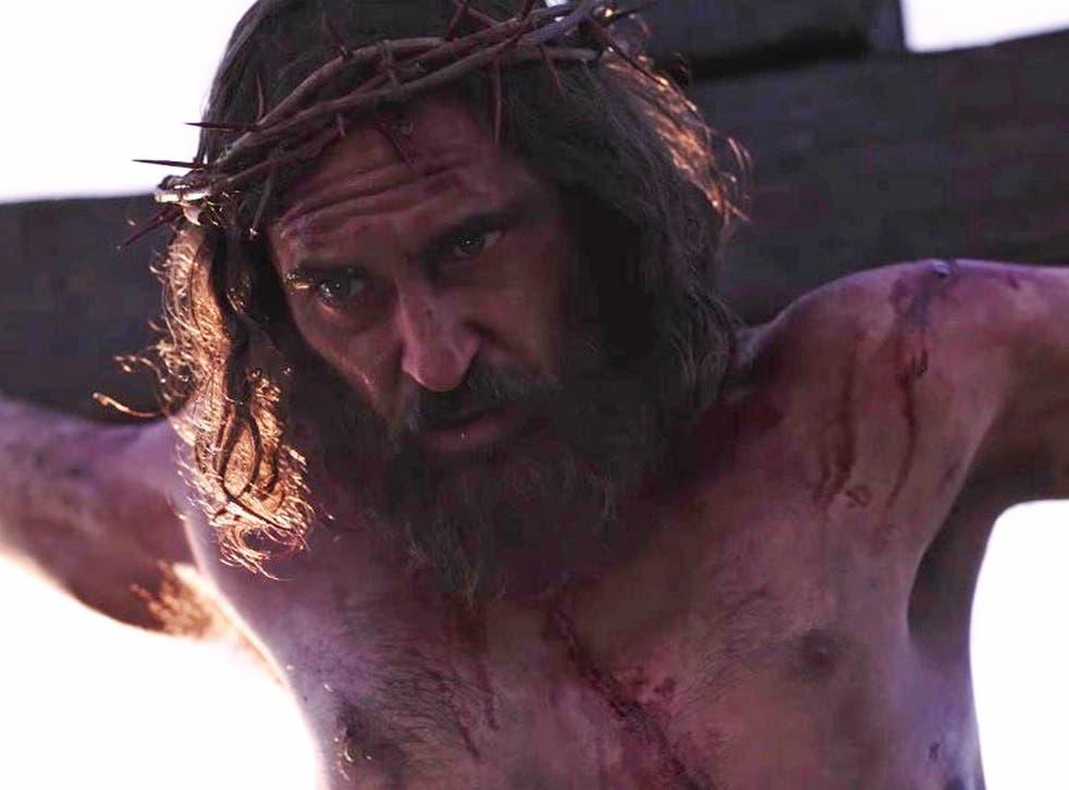 Joaquin Phoenix as Jesus Christ in 'Mary Magdalene'
