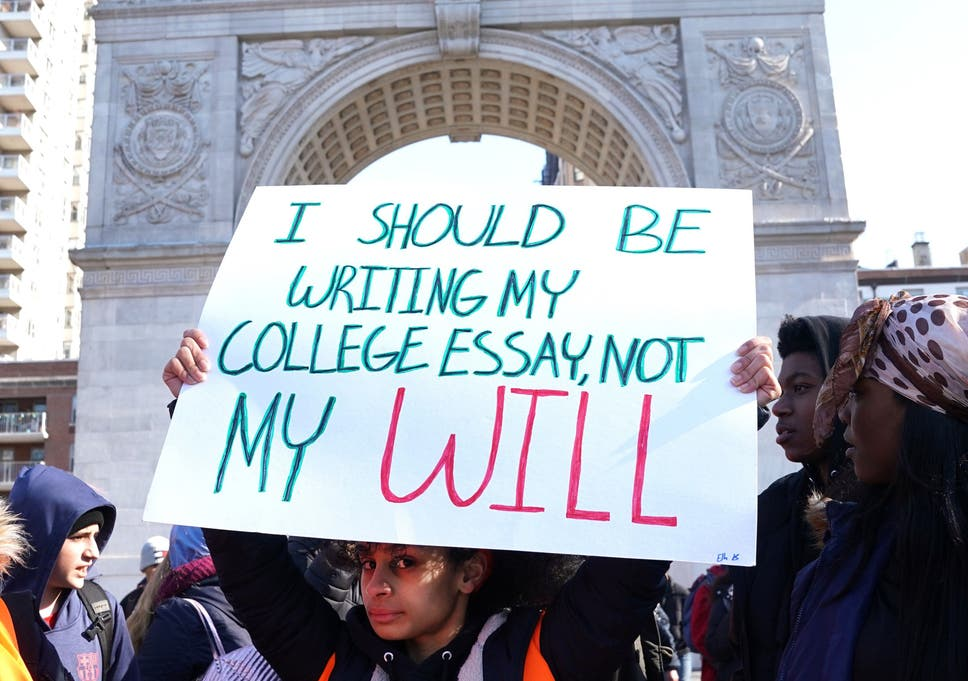 High School Essay Sample The Parkland Shooting Sparked An Intense National Debate About Guns In  America Essay Style Paper also Example Of A Thesis Statement For An Essay Eightysix Us Teenagers Have Been Killed By Gun Violence In The   Narrative Essay Examples For High School