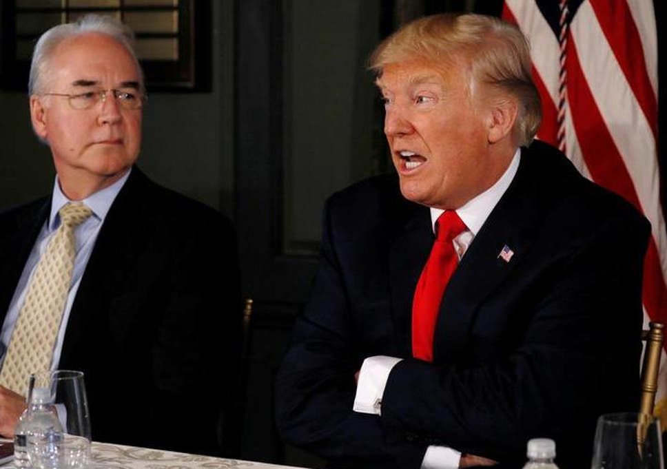 818fb237e Donald Trump's cabinet accused of living large at taxpayers' expense ...