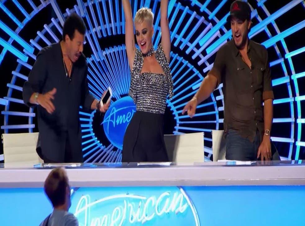 Picture: (American Idol screengab )