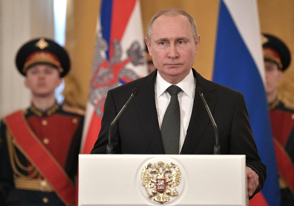 Russia will send people to Mars and the moon, Putin says   The