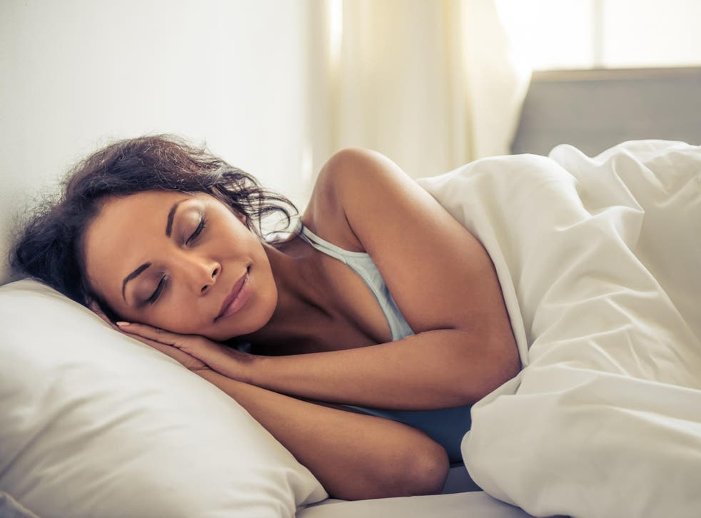 Health professionals recommend people spend 8 hours in bed each evening