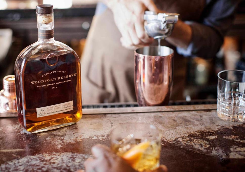 219f16d7313 The Woodford Reserve is is triple-distilled and has a high rye content