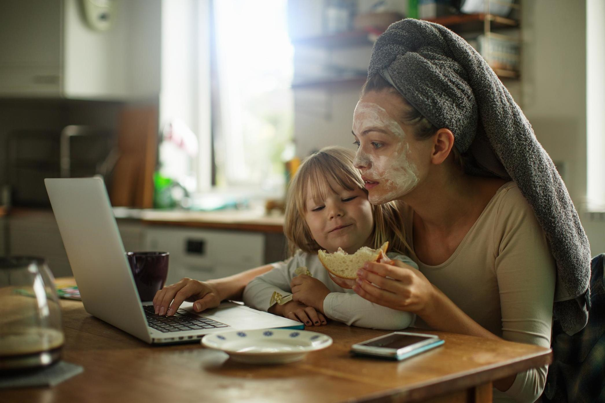 Being a mother is equivalent to 2.5 full-time jobs, survey finds