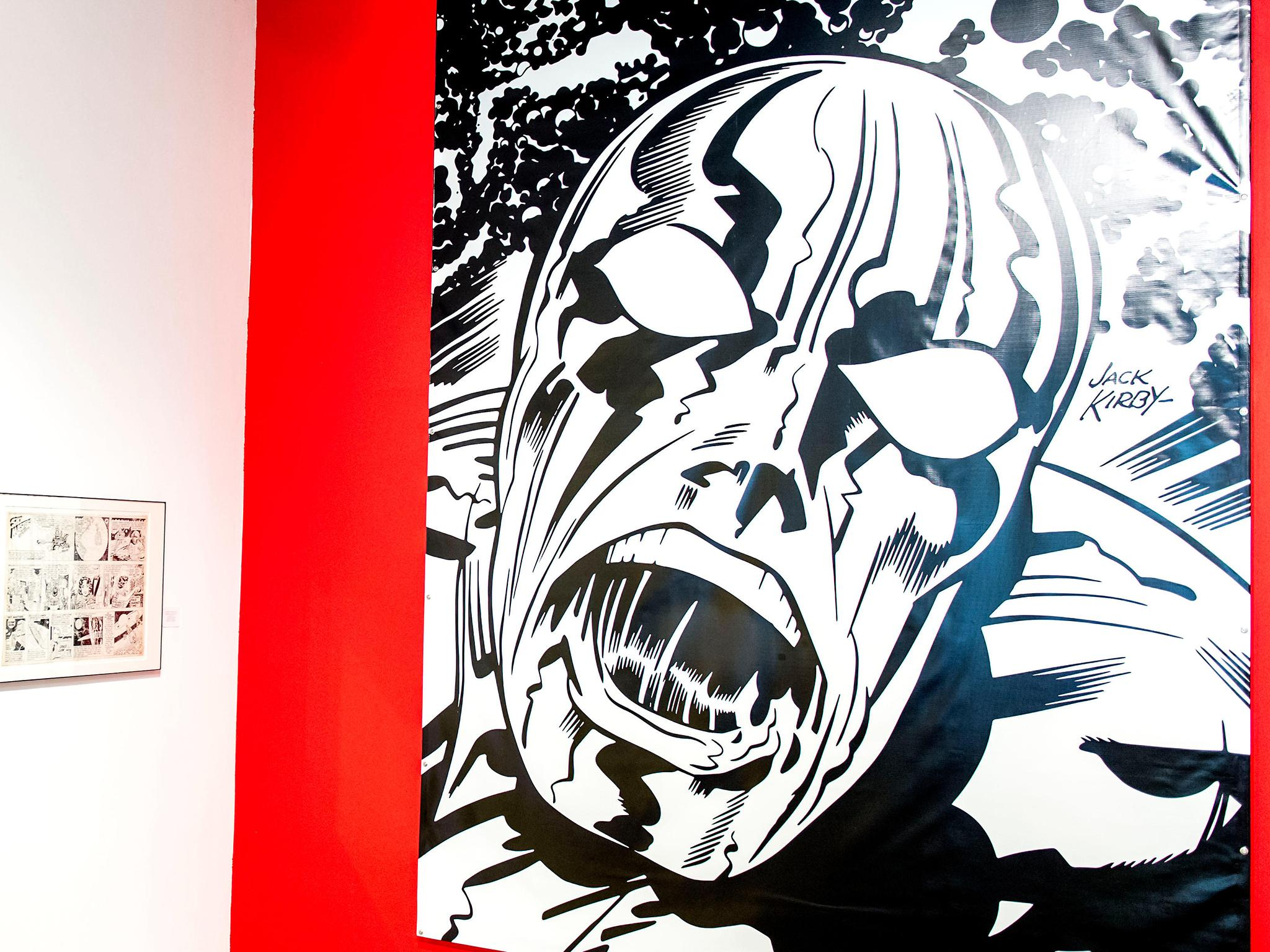 Jack Kirby: The comic book artist finally gets the