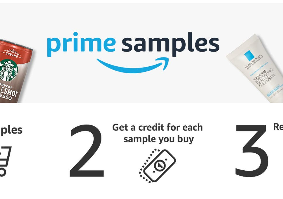 Amazon launches Prime Samples where members can order 'free