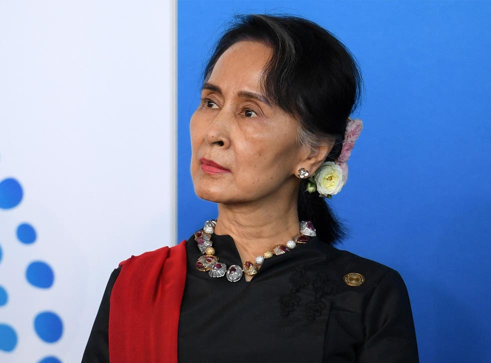 Burmese State Counsellor Aung San Suu Kyi studied at Oxford and SOAS