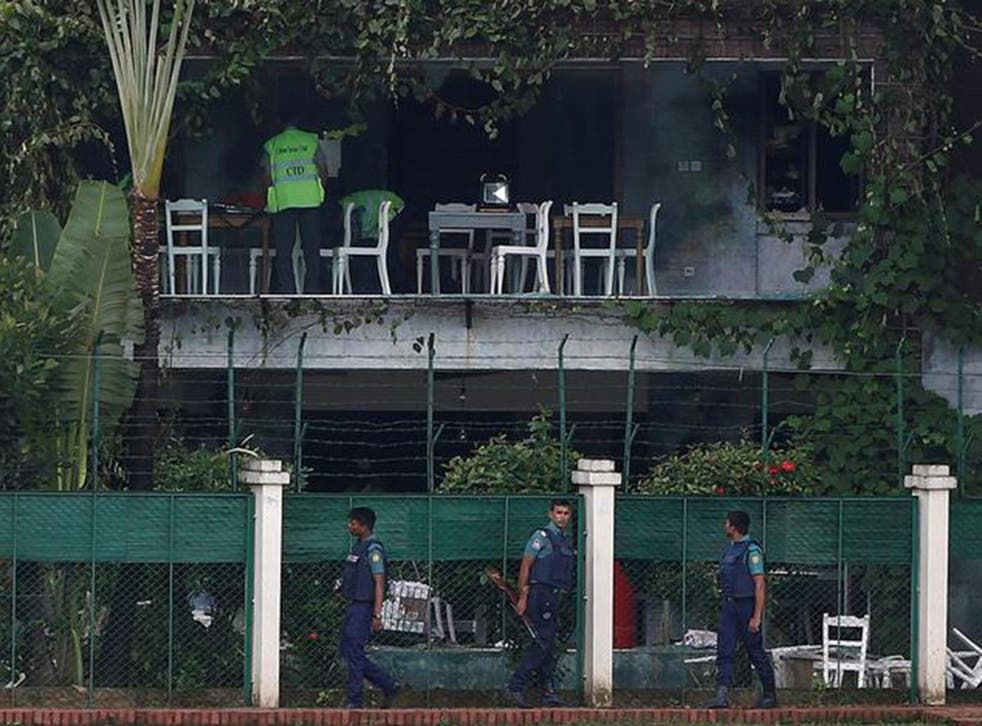 Police believe the same group was responsible for the most recent serious attack, when gunmen stormed a Dhaka restaurant in July 2016 and killed 22 people