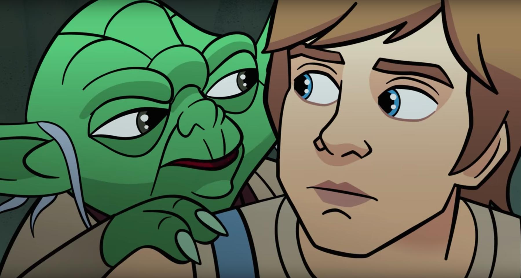 Mark Hamill returns as Luke Skywalker for new Star Wars short