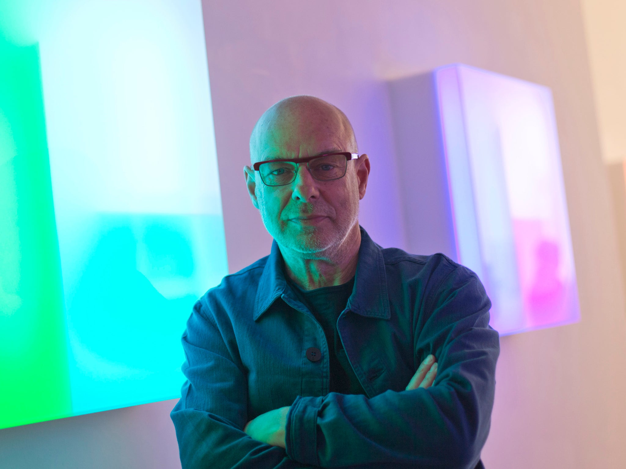 Brian Eno on immersive installations using video game technology: 'In terms of our understanding of what it is, we're right at the beginning'