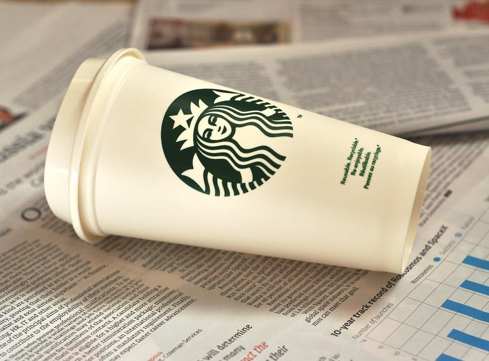 Campaigners also demand more sustainable packaging, and in particular a 100 per cent recyclable cup