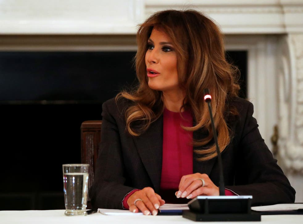 Melania Trump has not made a public appearance since her recent hospital stay