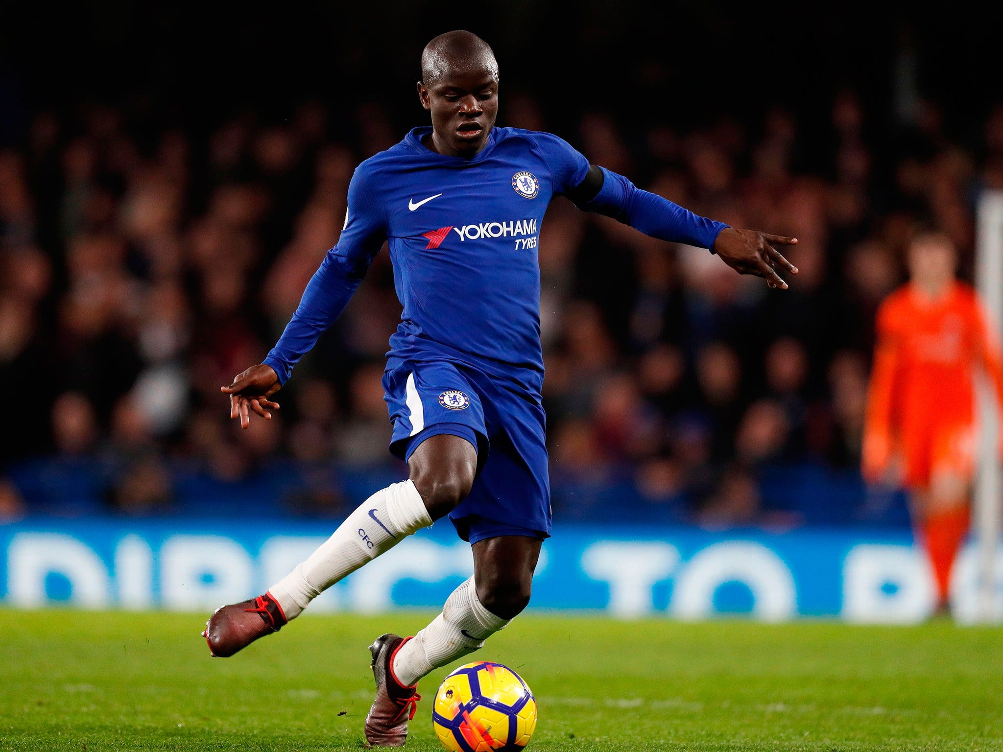 N'Golo Kante 'at home' with Chelsea as he plays down Paris Saint-Germain transfer rumours