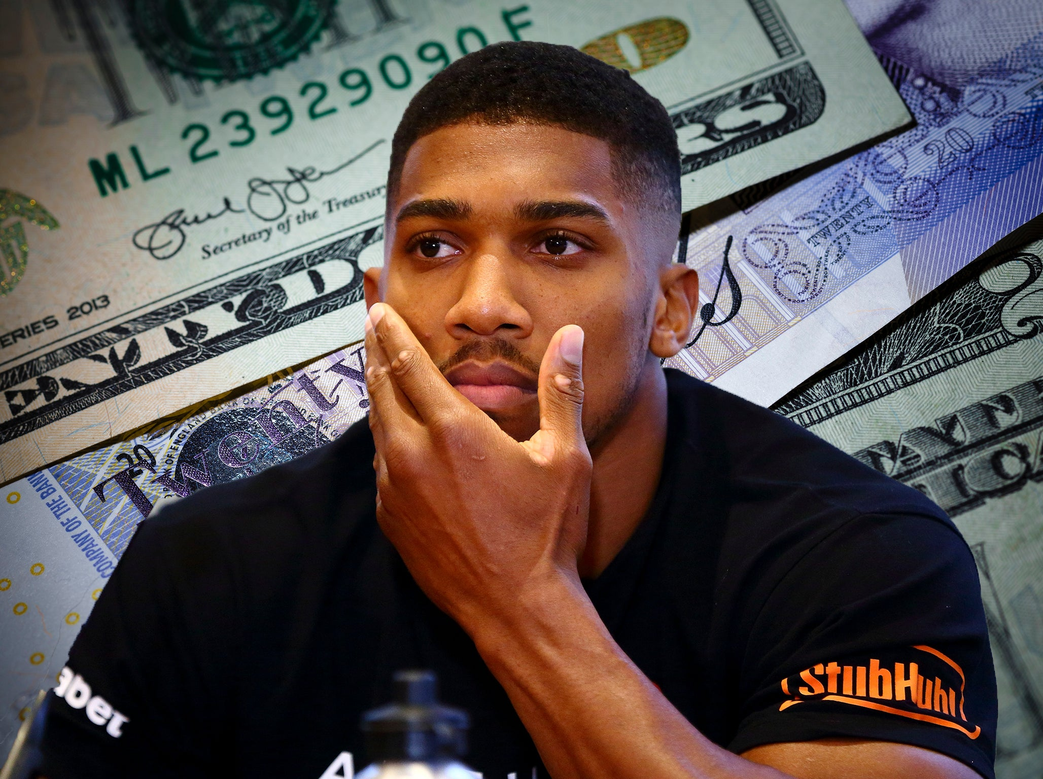 031183aa Why claims Joshua could become boxing's first billionaire are nonsense