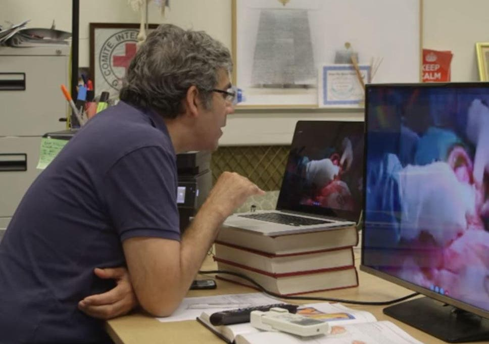 British surgeon fears helping doctors in Syria via Skype and