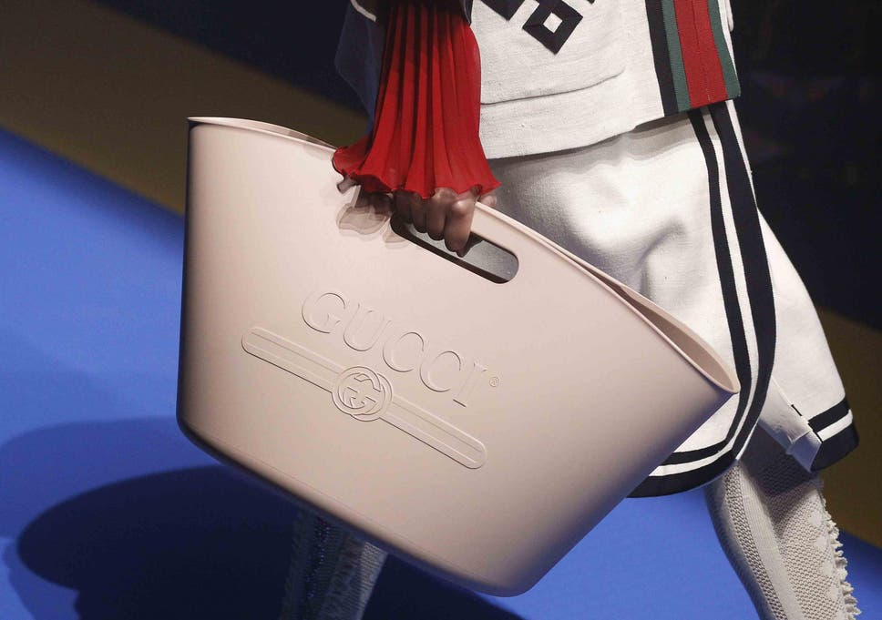 d1f21c6be4438f Gucci mocked by fashion fans for selling £700 bag that 'looks like a mop  bucket'