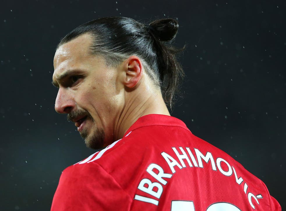 Zlatan Ibrahimovic struggled to fully recover from the effects of a serious knee injury