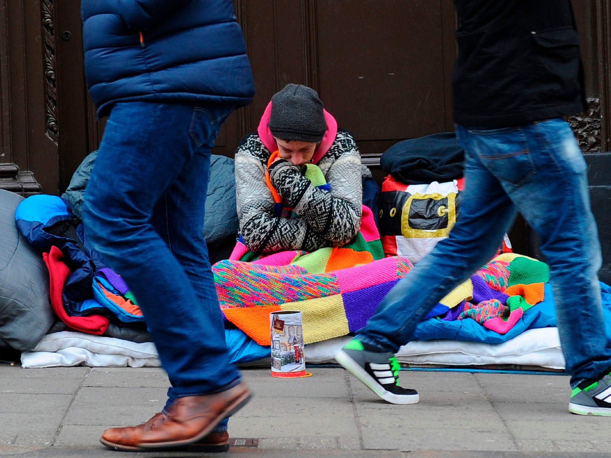 Number of shelter beds for homeless people drops by a ...