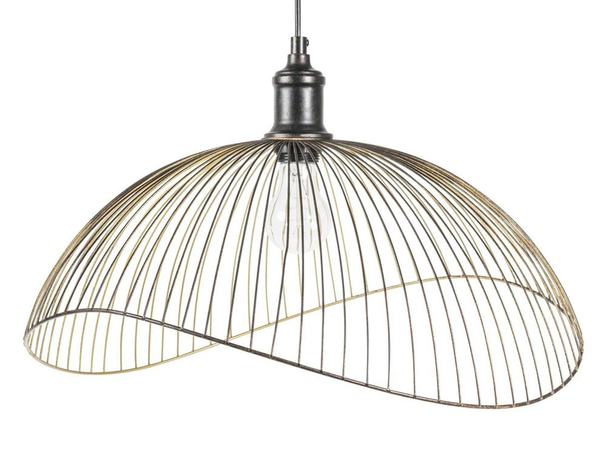 Wiring A New Light Fixture Uk 10 Best Lampshades The Independent Phaona Black Metal Wire Pendant 6599 Maisons Du Monde