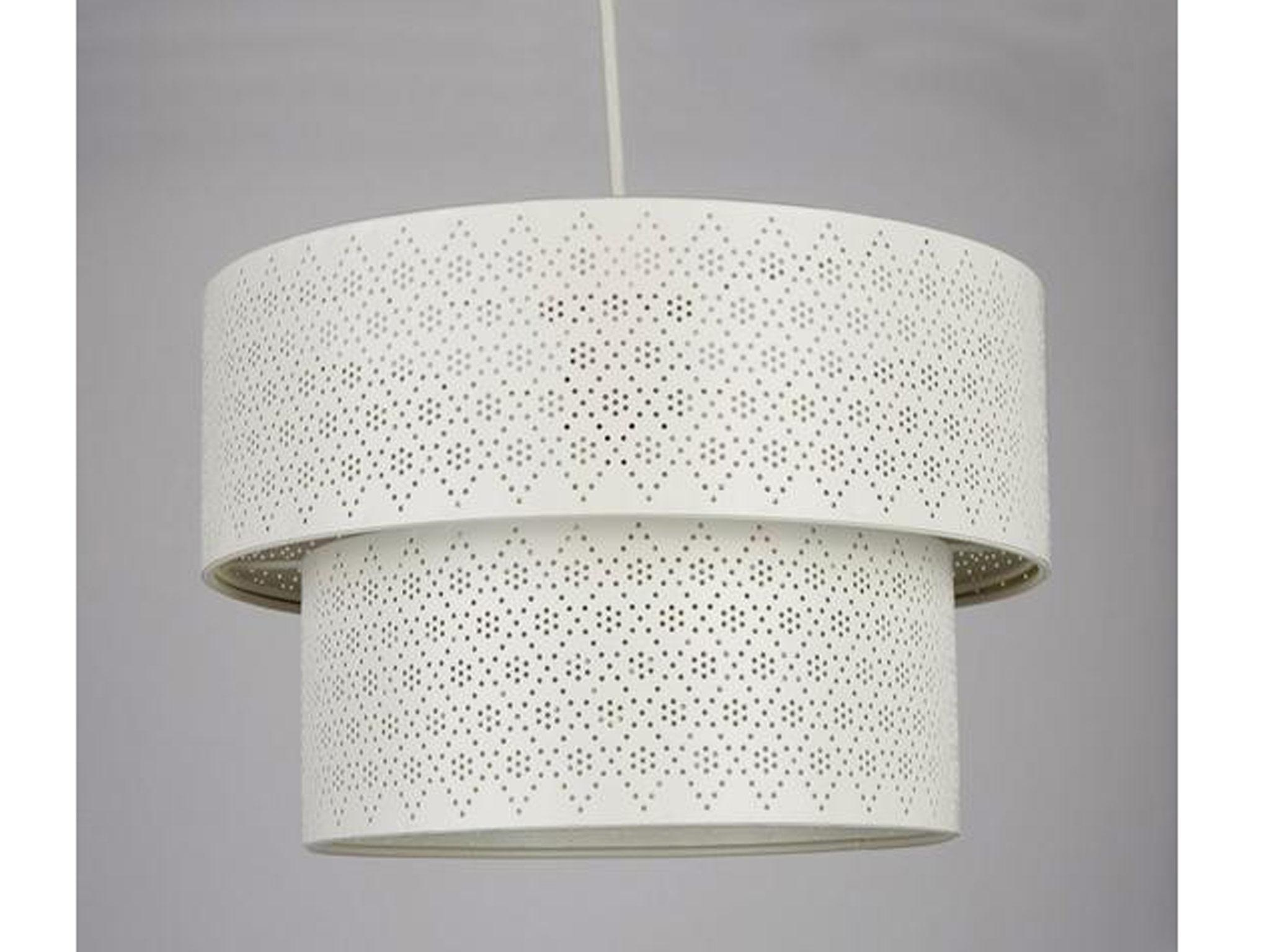 10 Best Lampshades The Independent Electrical Supply Cage Trouble Light Industrial Wire Lamp Shade Very Metal Fretwork Two Tier Drum 2499