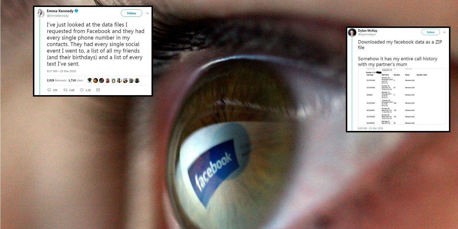 You can download everything Facebook knows about you and