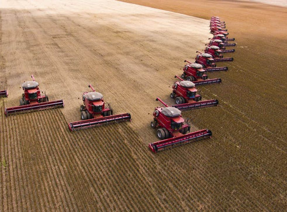 Agriculture is one of the biggest contributors to global warming, and with two billion more bodies expected by 2050, it's about to get very hot in here