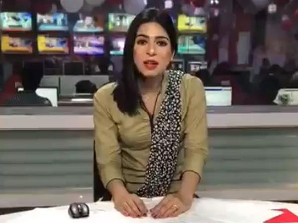 Pakistani makes history as countrys first trans newsreader